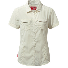 Craghoppers NosiLife Adventure II Blouse korte mouwen Dames, sea salt